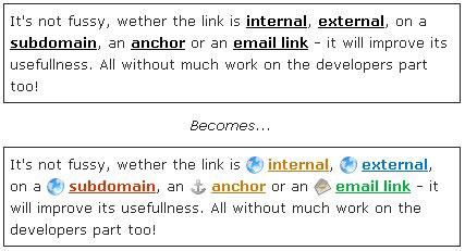Dlink, personaliza tus enlaces con mini-iconos automáticamente