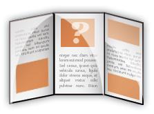 triptico Cómo hacer un tríptico de tamaño A 4 para imprenta