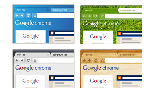 google chrome themes Nuevos themes para Google Chrome