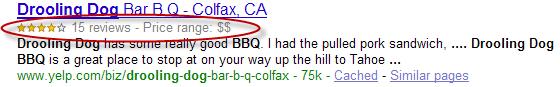 Google Rich Snippets, información social en los resultados de búsqueda de Google