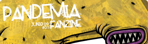 Pandemia Fanzine, revista gratuita digital de diseñadores gráficos e ilustradores