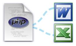 Cómo crear documentos Word y Excel dinámicamente desde PHP a partir de HTML
