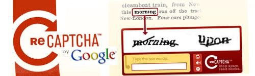 Google adquiere reCAPTCHA para digitalizar libros y documentos