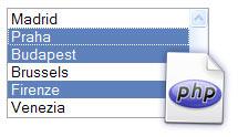 Cómo usar un Select Múltiple en PHP y recuperar los elementos seleccionados a través de un array