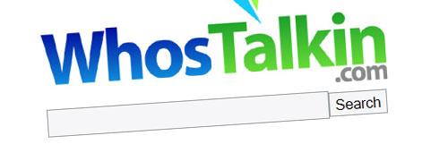 WhosTalkin, otra herramienta para medir la popularidad de tu página web o blog