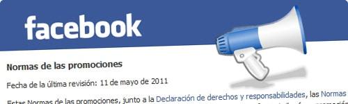 Normativa de facebook para organizar promociones, concursos o sorteos