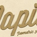 Mockup gratutito para crear un mapa isométrico con Photoshop en 3D