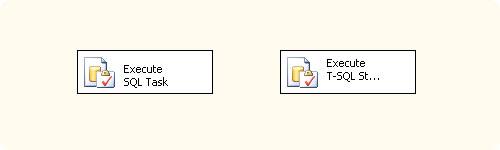Tareas SSIS (Integration Services): Ejecutar instrucción T-SQL y Ejecutar SQL