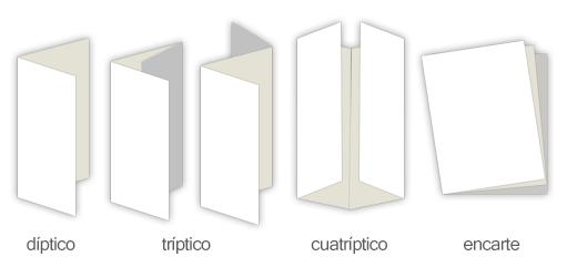 como hacer tripticos3 Tipos de flyers o brochures